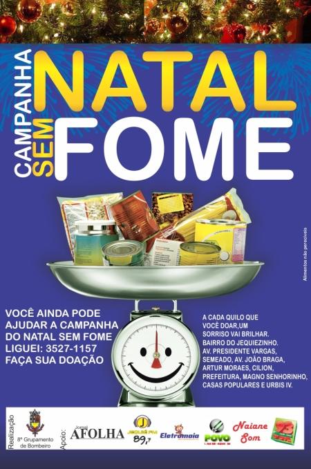 NATAL SEM FOME 2012