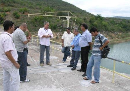 Reunião na Barragem de Pedra